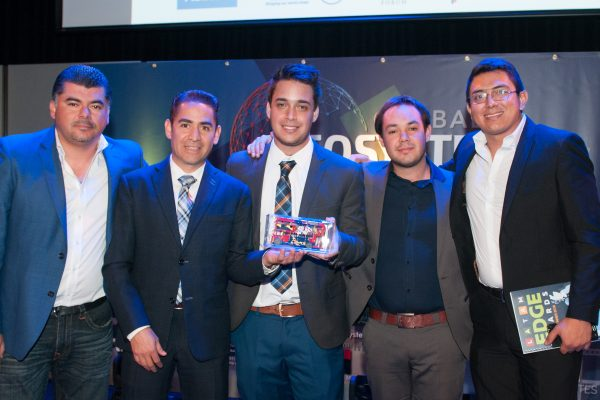Winner 2018 LatAm Edge Awards Biomi Tech at Indigo at the O2, London. 14.06.2018 Photographer Sam Pearce / www.square-image.co.uk2018 LatAm Edge Awards at Indigo at the O2, London.